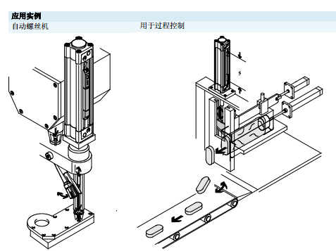 festo带夹紧装置的iso气缸,festo标准型气缸   具有两个传感器槽的