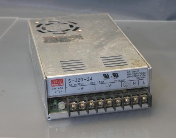 明纬开关电源s-350-12