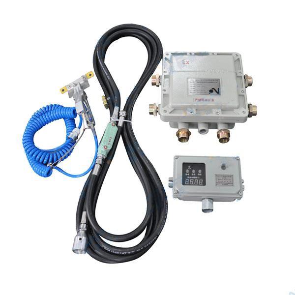 报警显示箱发出声光报警,同时输出开关量控制信号,能有效防止液体溢