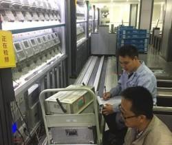 江苏计量院完成电科院大批量电能表检定装置检定任务
