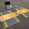 车辆超载检测便携式轴重秤,交警治超地磅,两块板称重轴重仪