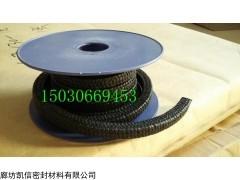 10mm黑色四氟盘根、黑四氟盘根