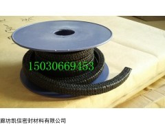 14mm含油黑四氟盘根=膨胀黑四氟盘根