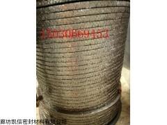 20*20高温高压柔性石墨盘根产品的资料