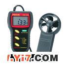 上海智务供应台湾泰仕TES AVM-305风速计可测风温