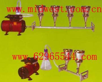 四联不锈钢全自动溶液过滤器(不含泵)