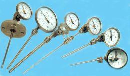 带热电偶(阻)、温度变送器的双金属温度计