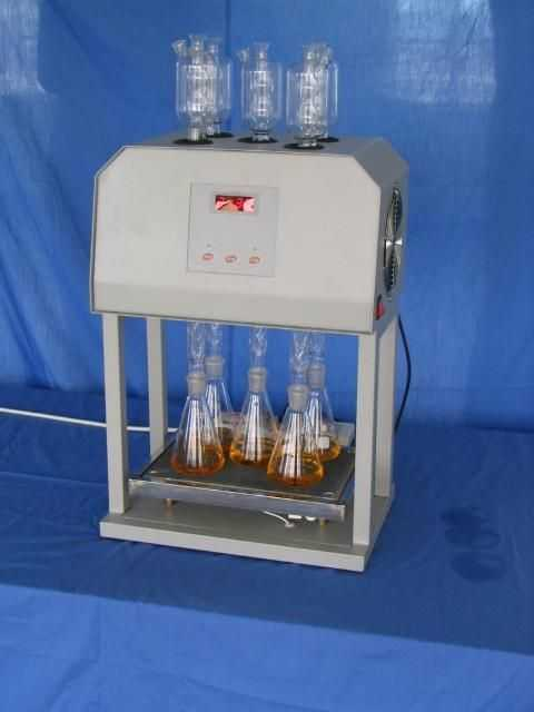 ( cr )的ky-100 cod消解器测定步骤:严格地规定了方法的加热消解时间