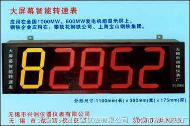 SZC-04型大屏幕转速显示仪