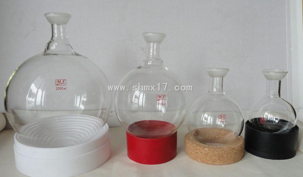 球磨 烧瓶/250/35 ~2000/35球磨口圆底烧瓶(厚壁) 全部规格的球磨口圆底...